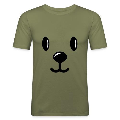 Teddy beer. - slim fit T-shirt
