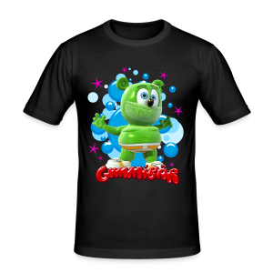 Gummibär Bubbles Men's Slim Fit T-Shirt - Men's Slim Fit T-Shirt