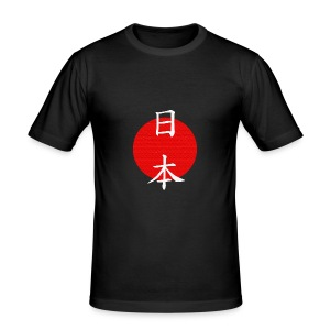 Japan - Phoenix logo in relief - Maglietta aderente da uomo