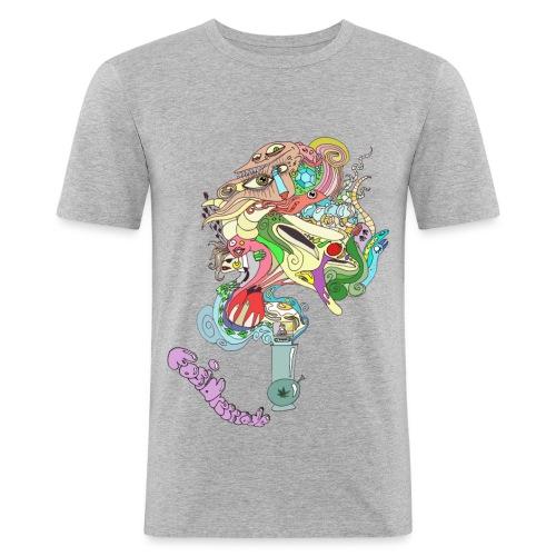 Bongo Bong M - Männer Slim Fit T-Shirt