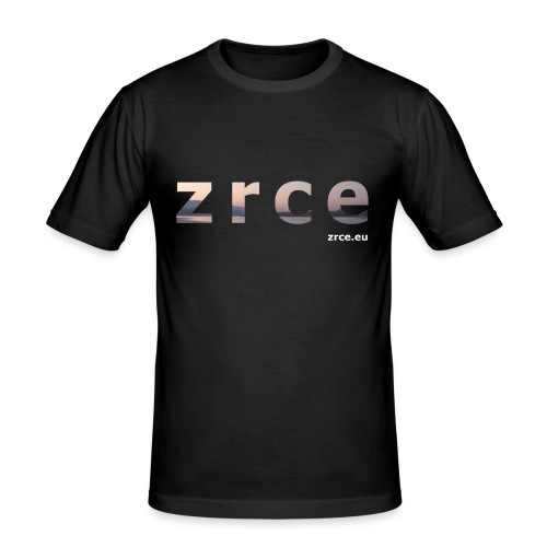 Zrce 2013 Black Slimfit - Männer Slim Fit T-Shirt