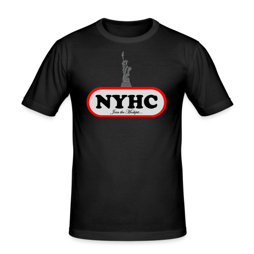 New York Hardcore - Join the Moshpit - Männer Slim Fit T-Shirt