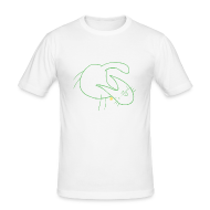 T-Shirts ~ Men's Slim Fit T-Shirt ~ Wonder Cat