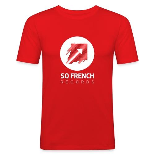 Red Test Men - T-shirt près du corps Homme