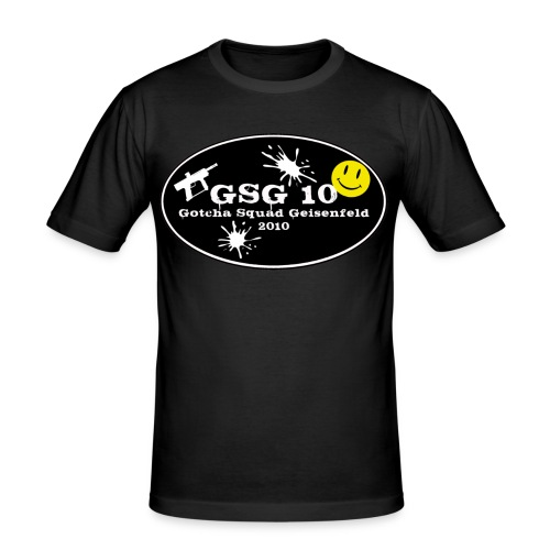 GSG 10 Halloween 2012 - Männer Slim Fit T-Shirt
