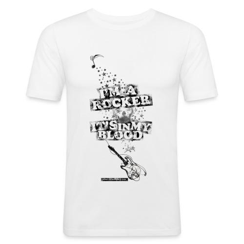 I'm a rocker esp. [H] - Camiseta ajustada hombre