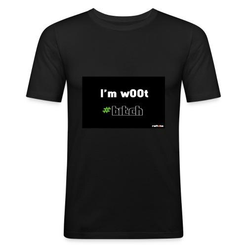 T-Shirt w00t - Tee shirt près du corps Homme