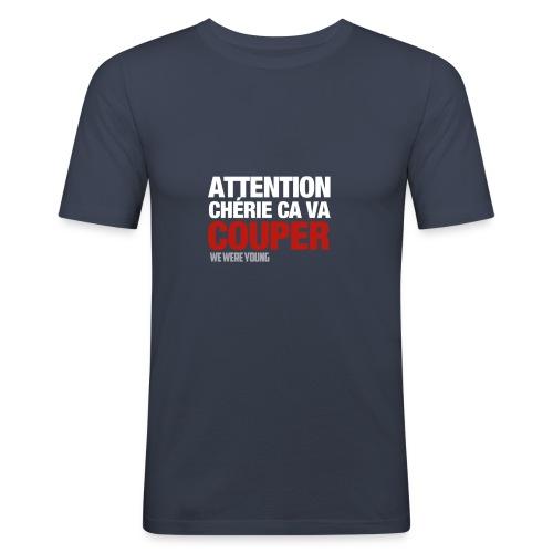 T-Shirt Col rond Couper - T-shirt près du corps Homme