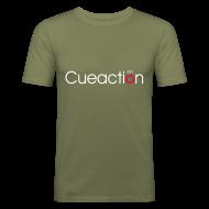 T-Shirts ~ Men's Slim Fit T-Shirt ~ cueaction mode on