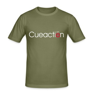 cueaction mode on - Männer Slim Fit T-Shirt