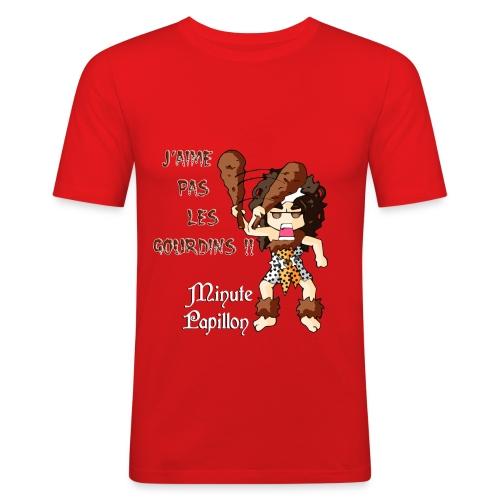 Mini-Kriss - J'aime pas les gourdins 2 - T-shirt près du corps Homme