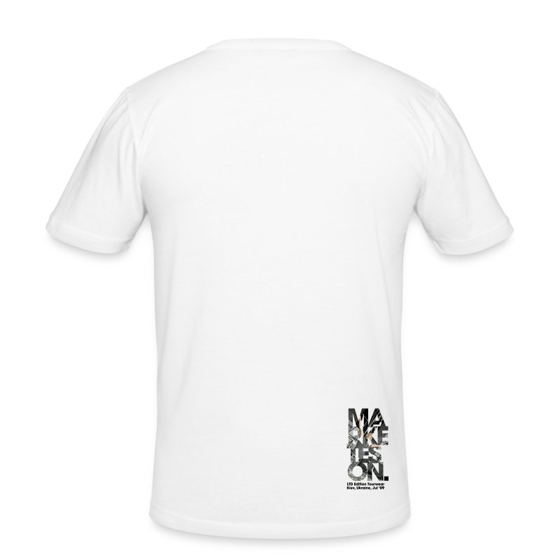 LTD Edition Slim Fit Tourwear - Chicago '12 - Men's Slim Fit T-Shirt