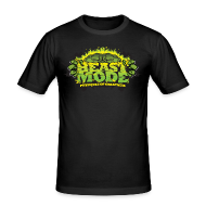 T-Shirts ~ Men's Slim Fit T-Shirt ~ Beastmode Beast Green