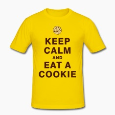 KEEP CALM AND EAT A COOKIE T-Shirts