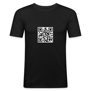 95ers QRcode - Männer Slim Fit T-Shirt