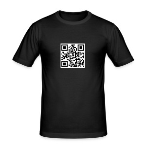 95ers QRcode - Männer Slim Fit T-Shirt
