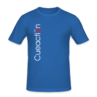 T-Shirts ~ Männer Slim Fit T-Shirt ~ cueaction snooker