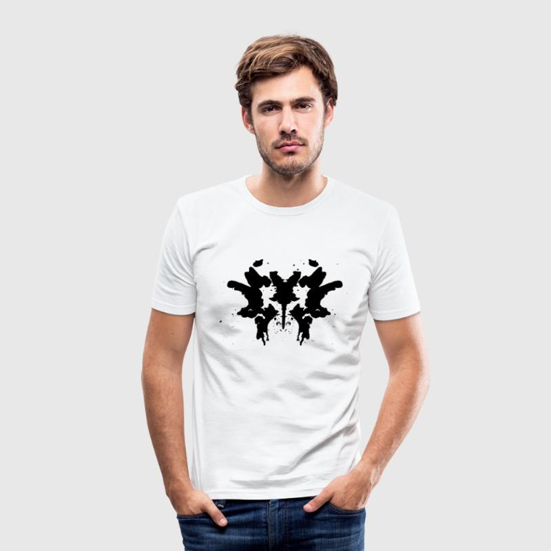 Rorschach T-Shirts - Männer Slim Fit T-Shirt