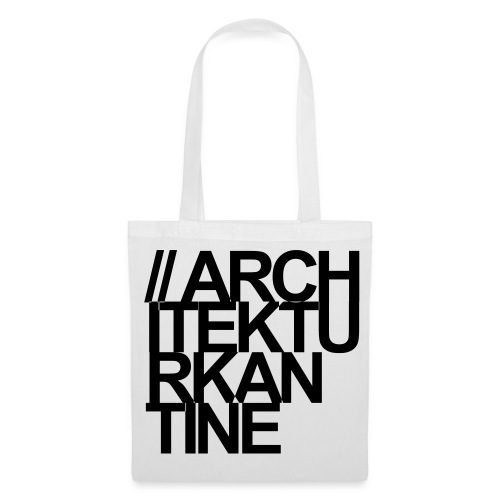 Architekturkantine_Quadrat_Tasche - Stoffbeutel