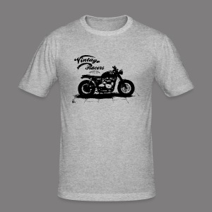 Dark Cafe Racer T-shirt grey - Tee shirt près du corps Homme