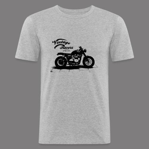 Dark Cafe Racer T-shirt grey - T-shirt près du corps Homme