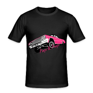T-shirts ~ slim fit T-shirt ~ Men's slim fit shirt  - Pimpz & Pumpz - Car