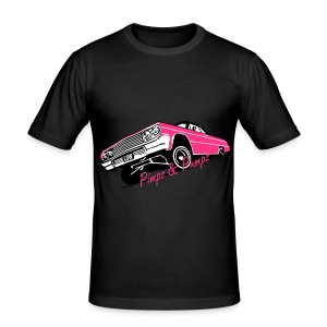 Men's slim fit shirt  - Pimpz & Pumpz - Car - slim fit T-shirt