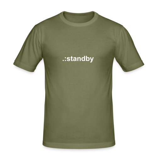 standby_boy - Männer Slim Fit T-Shirt