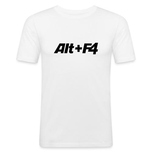 Alt+F4 - Männer Slim Fit T-Shirt