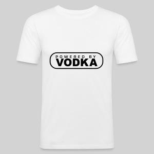 fit-t weiß VODKA - Männer Slim Fit T-Shirt