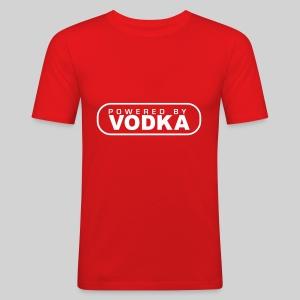 fit-t rot VODKA - Männer Slim Fit T-Shirt