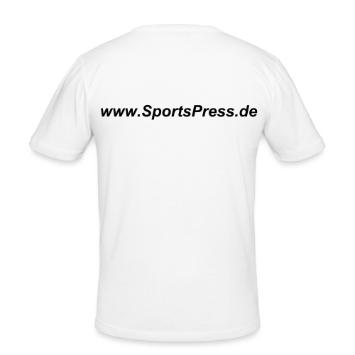 SportsPress 3 - Männer Slim Fit T-Shirt