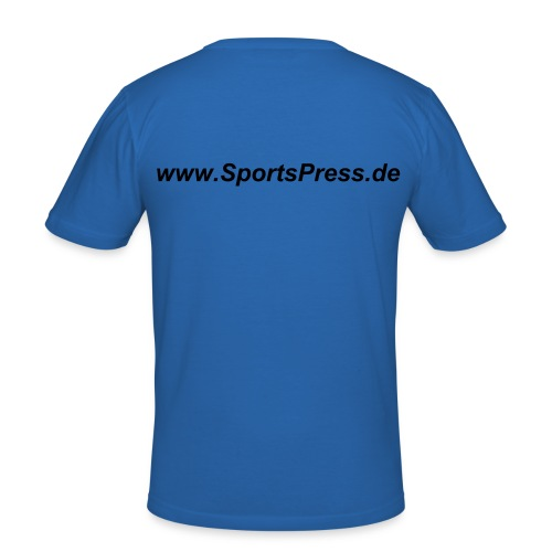 SportsPress 4 - Männer Slim Fit T-Shirt