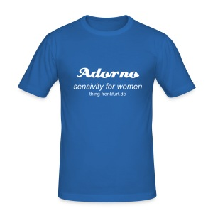 Adorno Shirt - Männer Slim Fit T-Shirt