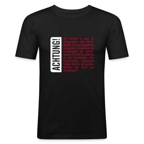 Achtung Unsinn! - Männer Slim Fit T-Shirt
