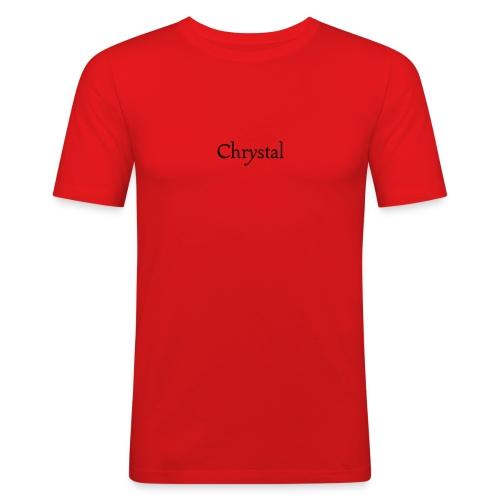 Crystal - Männer Slim Fit T-Shirt