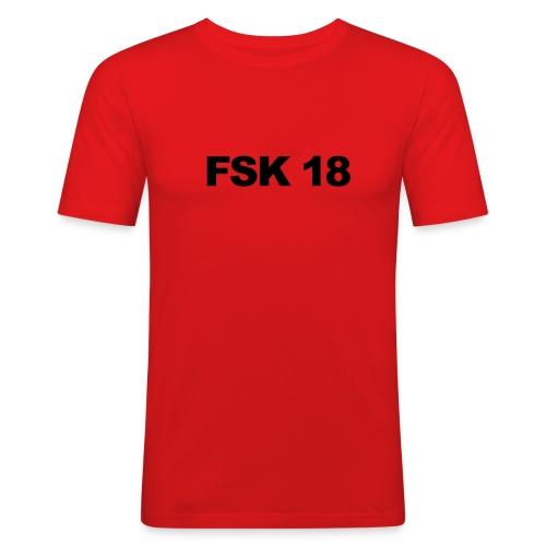 Shirt Fsk 18 - Männer Slim Fit T-Shirt