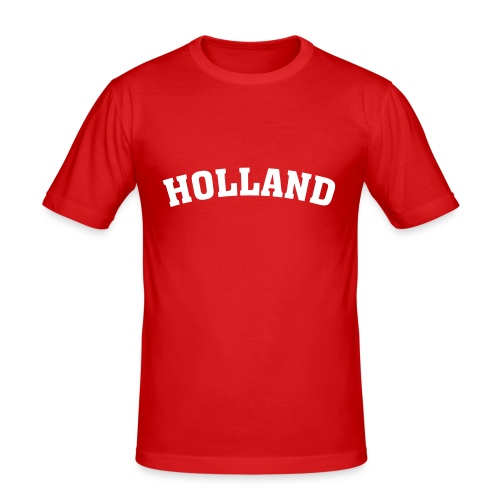 HOLLAND - Männer Slim Fit T-Shirt
