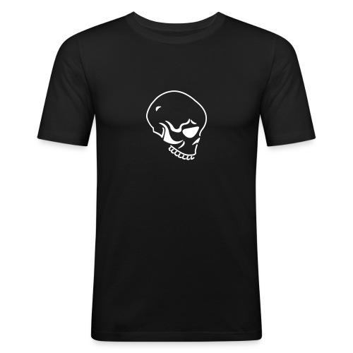 Skull Shirt - Männer Slim Fit T-Shirt