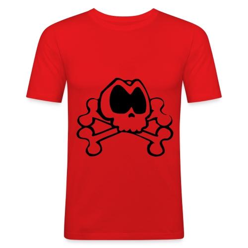 Vorsicht - Männer Slim Fit T-Shirt