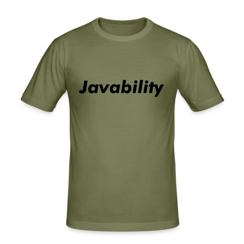 Javability - Männer Slim Fit T-Shirt