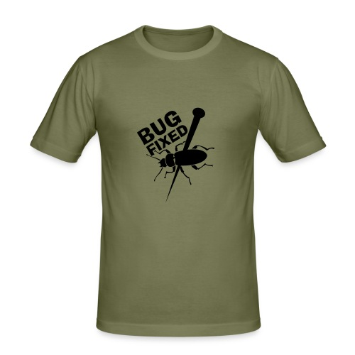 BugFixed - Männer Slim Fit T-Shirt