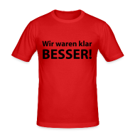 T-Shirts ~ Männer Slim Fit T-Shirt ~ EM-T-Shirt