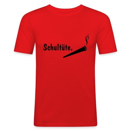 T-Shirt Schultüte - Männer Slim Fit T-Shirt
