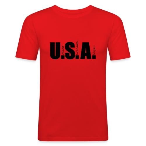 Männer Slim Fit T-Shirt - T-Shirt, normal