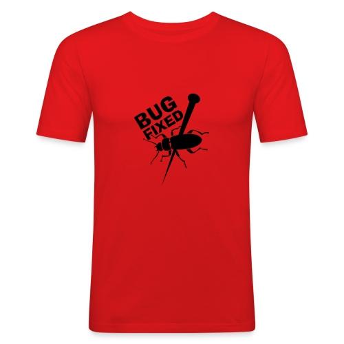 Test Name - Männer Slim Fit T-Shirt