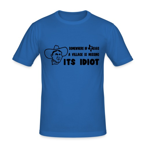 Irgendwo... - Männer Slim Fit T-Shirt