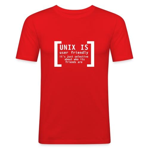 Unix is .. - boy-shirt - Männer Slim Fit T-Shirt