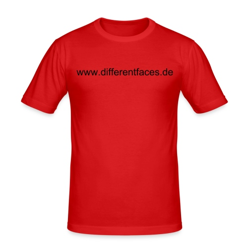 Different Faces 1 - Männer Slim Fit T-Shirt