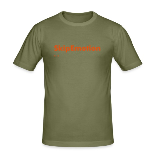 SkipEmotion - Männer Slim Fit T-Shirt